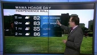 Wawa Welcome America Forecast: Hoagie Day