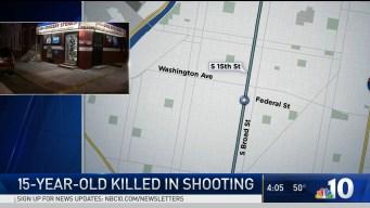 15-Year-Old Shot, Killed in Philadelphia