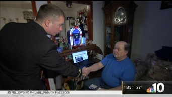 Grandfather Surprised With Tickets to Army-Navy Game