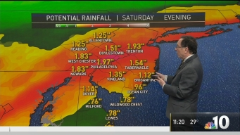 NBC10 First Alert Weather: Cold Weather and Then Rainfall This Week