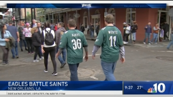 Eagles Fans Bring the Noise in NOLA