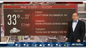 First Alert Weather: Second Round of Snow