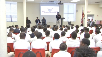 DeSean Jackson Shares Anti-Violence Message With Philly Students