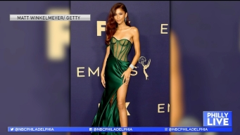 Talking Emmy's 'Purple' Carpet Fashion