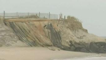 Hurricane Michael's Damage at Jersey Shore