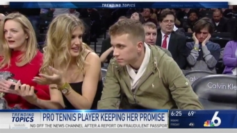 VIDEO: Pro Tennis Player Takes Fan on Date After Losing Super Bowl Bet