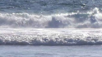 Wind & Off-Shore Storms Stir Up Surf Along Jersey Shore