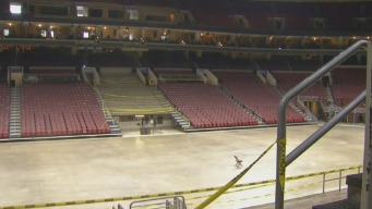 Transforming The Wells Fargo Center for The DNC