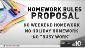 Less Homework in West Chester Schools