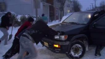Wicked Wind and Frigid Cold Hampering Snow Clean-up