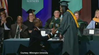 Watch: Army Lieutenant Proposes to Wilmington Grad During Commencement