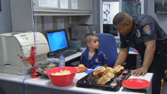 Boy, 5, Buys Lunch for South Jersey Police Officers