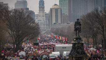 Women March and Take a Stand in Philadelphia