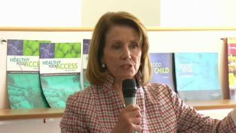 Nancy Pelosi Visits Philadelphia for Women's Round Table