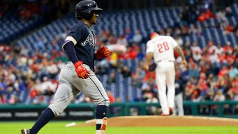 Phillies Miss Target of 1st Place With Home Loss to Braves