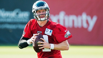 Carson Wentz Is Eagles No. 3 QB
