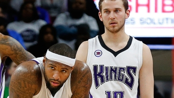 Apparently, DeMarcus Cousins Threatened to Fight Nik Stauskas on a Plane