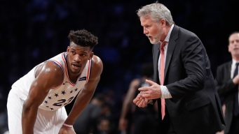 Jimmy Butler's Relationship With Brett Brown Could Help Keep the Free Agent With Sixers