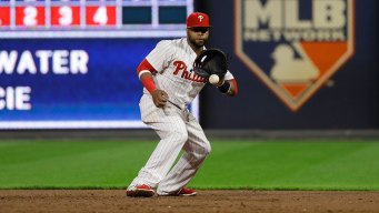Carlos Santana Leaves Behind as Polarizing an On-field Legacy as a 1-year Philly Athlete Can