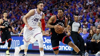 Ben Simmons Fined $20,000 for Low Blow on Kyle Lowry in Game 3 of Sixers' Series Vs. Raptors