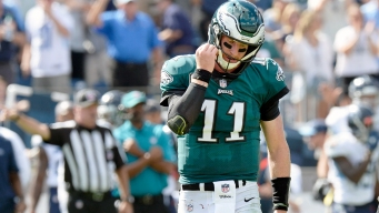 Wentz Has a Fracture in His Back, Sources Say