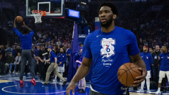 Sixers' Joel Embiid Skips Shootaround, Probable for Game 5