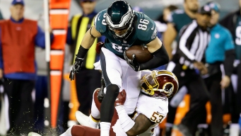 Zach Ertz Sets Eagles Franchise Record for Receptions in a Single Season and Isn't Done Yet