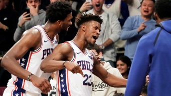 When It Mattered, Jimmy Butler Wasn't Worried About Trying to Blend Into Sixers' Offense