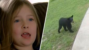 Young Girl's Terrified Screams Sends Bear Running