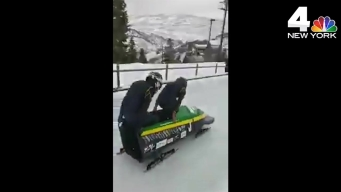 Jamaica's Bobsled Team Fundraises for Coach