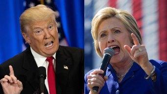 Donald Trump, Hillary Clinton Set Sights on Battleground Pa.