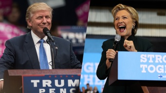 Clinton and Trump Go After Each Other in Florida