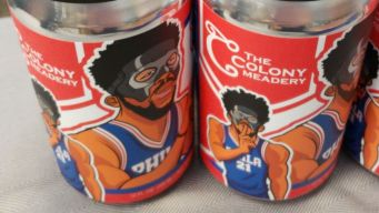 Sixers Star Honored With Joel Em-Mead Drink