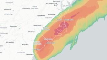 Hurricane Dorian Moves Toward the Carolinas