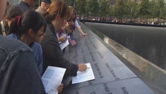 Local Families Gather in NY for 9/11 Memorial