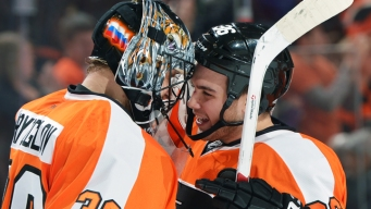 Flyers Notes: Bryzgalov Finally Earns Shootout Win