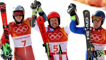 Marcel Hirscher Wins 2nd Gold Medal in Giant Slalom