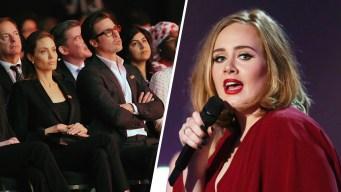 Adele Dedicates NYC Concert to Brad Pitt and Angelina Jolie