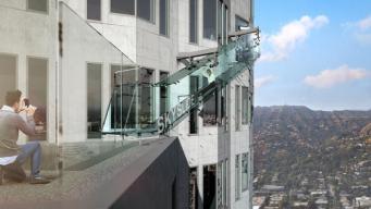 Zip Down a Glass Slide on West Coast's Tallest Building