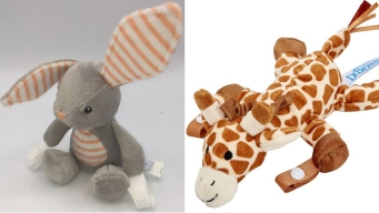 Animal-Shaped Pacifier and Teether Holders Recalled