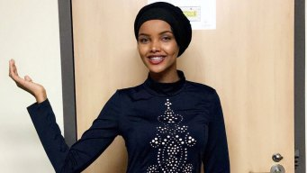 Muslim Miss Minnesota Hopeful Competes in Hijab, Burkini