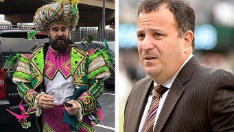 Mike Lombardi Responds to Jason Kelce's Burn