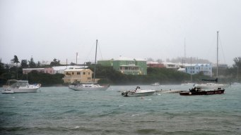 Bermuda Weathers Lashing From Hurricane Nicole