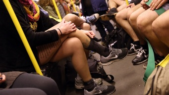 Philly Shows Some Skin for 'No Pants' Subway Ride