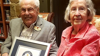 Husband, 106; Wife, 105, Named World's Oldest Living Couple