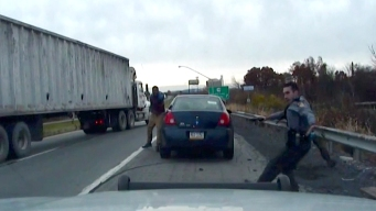 Dashcam Video Shows Near-Fatal Shooting of Pa. Troopers