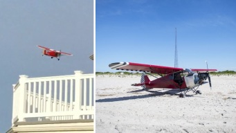 Plane Lands on Secured Coast Guard Beach, Pilot Missing