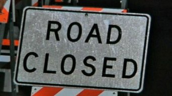 Road Closure on Valley Forge Road