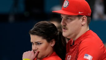 Team USA Curling Falls to Korean Team in Mixed Doubles
