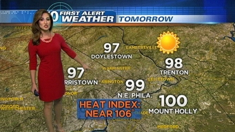Getting Hotter: Wednesday Evening Forecast